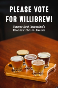 Please vote for Willibrew in CT Magazine's Readers Choice Contest