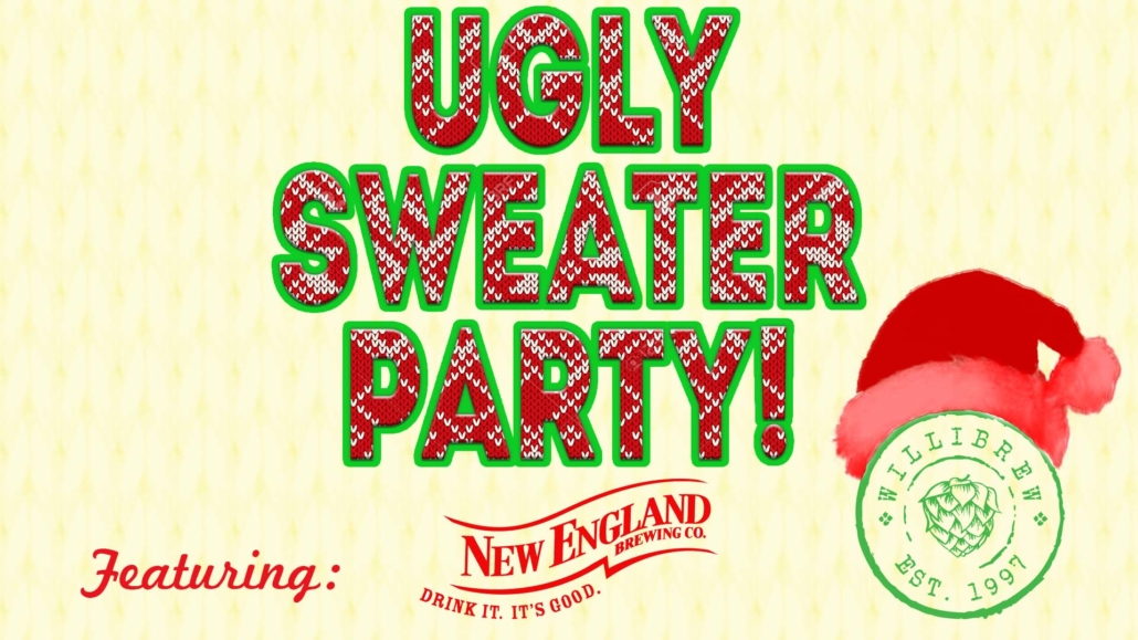 Ugly Sweater Party on December 18