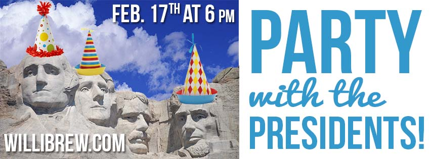 Party with the Presidents! @ Willimantic Brewing Company